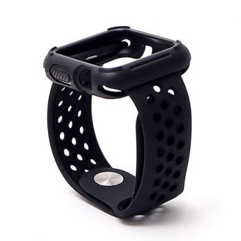42mm smartwatch band zwart bewerkt