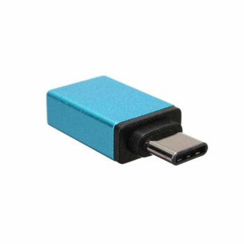 Blauw usb 31 type c naar usb 30 otg adapter 2 foto