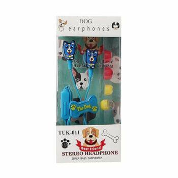 Honden Koptelefoo blauw