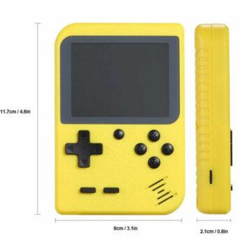 gaming console geel hoofdaf