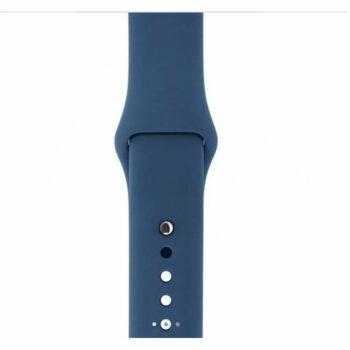 horlogeband blauw 38mm 3