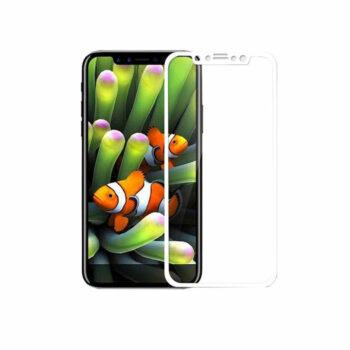 iphone x wit tempered bewerkt