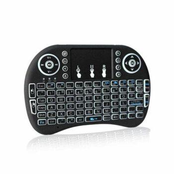 mini keyboard zwart bewerkt