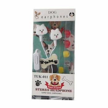 tuk 011 honden koptelefoon wit